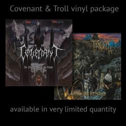 Covenant / Troll package : In Times before the light Black 2LP etched / Drep de Kristne Black LP