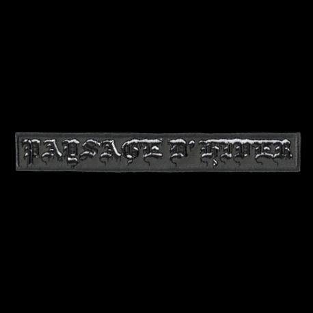 Paysage d'Hiver logo patch