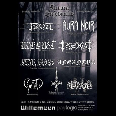 Aurora Infernalis festival poster part II